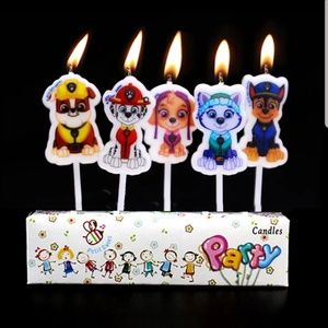 Paw Patrol Birthday Candles